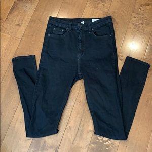 Rag & Bone Justine High Rose Skinny Jeans